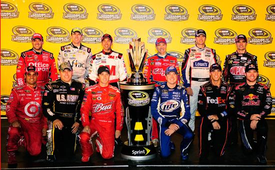 sprint cup chasers 2009